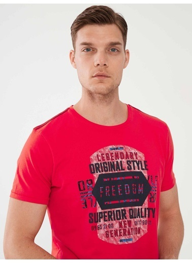 MCL Tişört Kırmızı